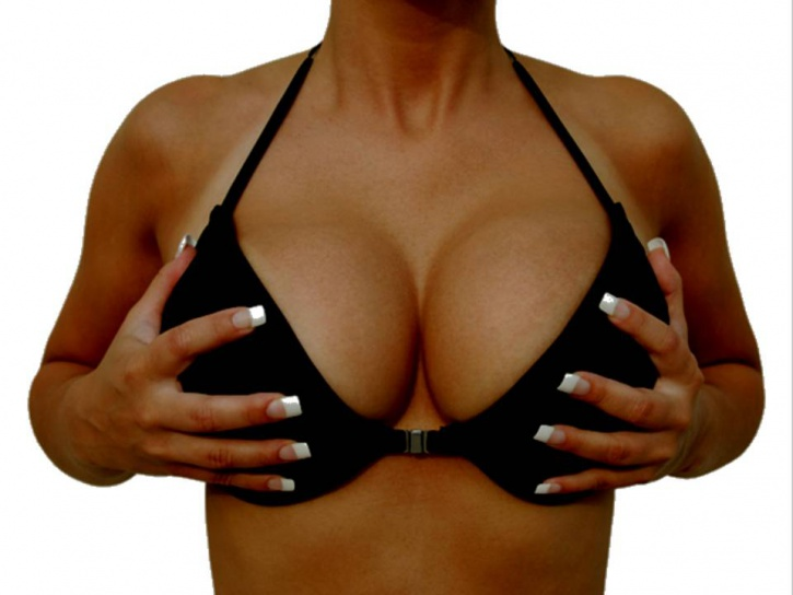 black breasts