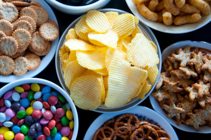 salty junk food snacks