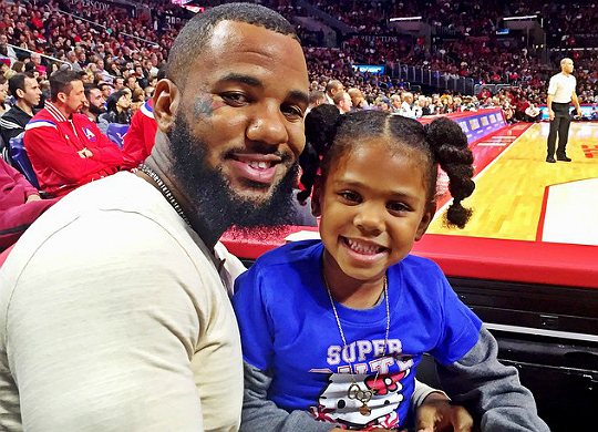 rapper the game daughter instagram