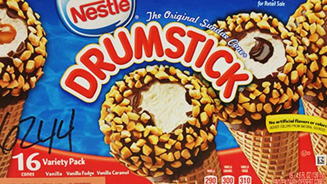 Nestle Drumstick recall