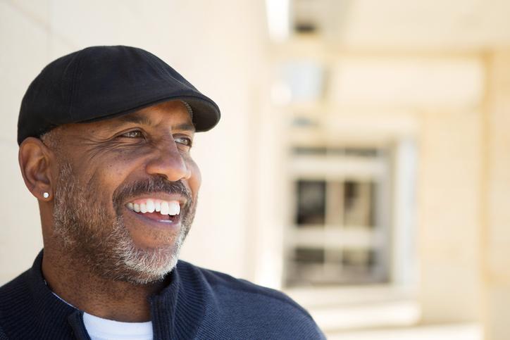 African American Man Smiling