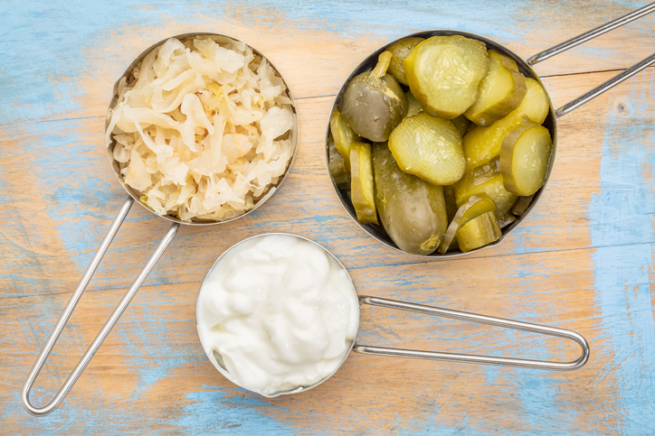 fermented probiotic foods
