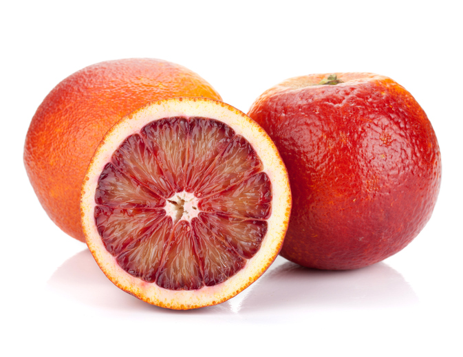 red blood oranges