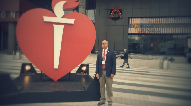 James Young heart failure survivor