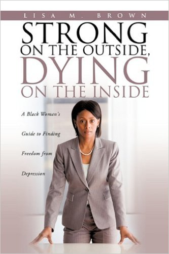 Lisa Brown Strong On the Outside Dying On the Inside book cover