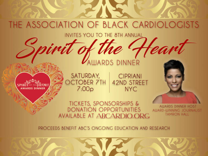 Association of Black Cardiologists Spirit Awards