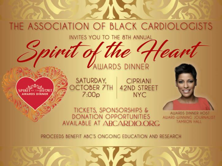 Association of Black Cardiologists Spirit Awards