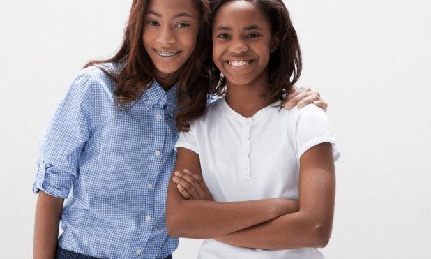 two ebony teens fucking