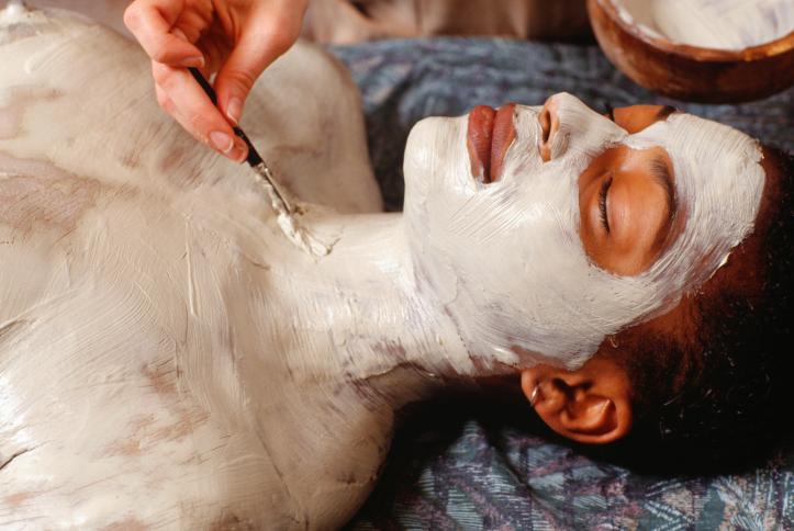 body wrap mud clay