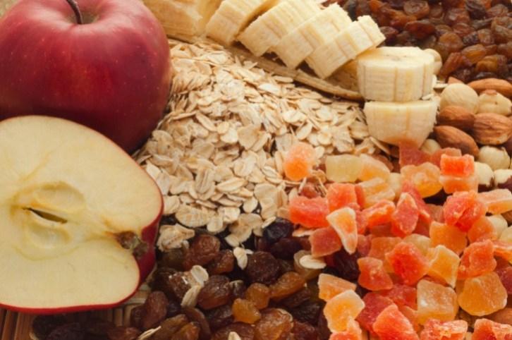 fiber fruits oats
