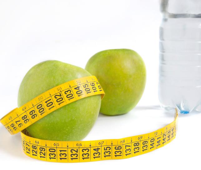 fruit apples water