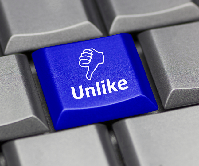 Facebook unlike key
