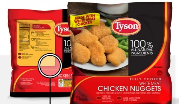 tyson-chicken nugget recall
