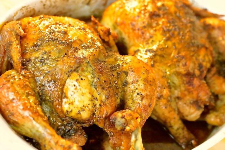 garlic-herb-rosted-chicken