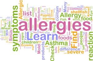Allergies stats
