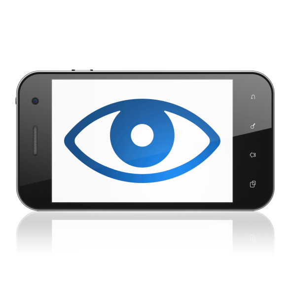 cell phone eye privacy