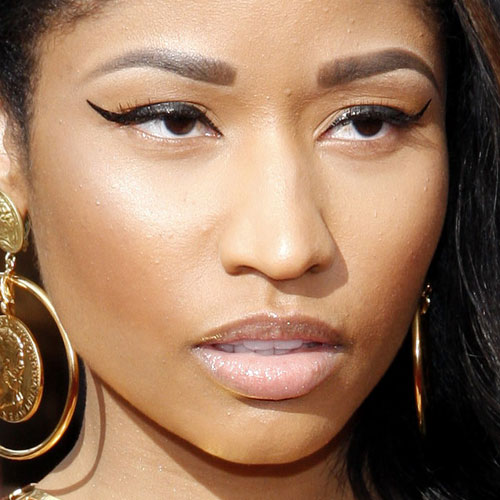 nicki minaj winged liner