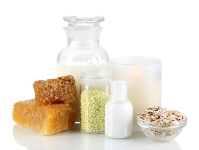 honey and milk cleanser