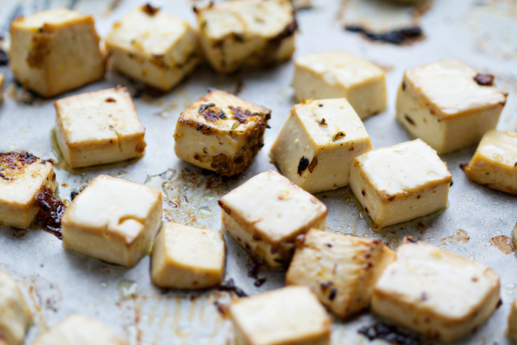 tofu with spices