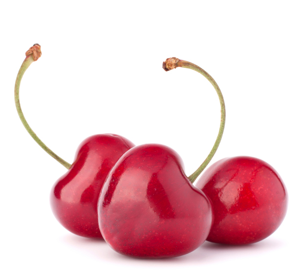 heart shaped cherries