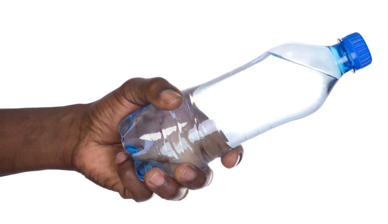 man water bottle
