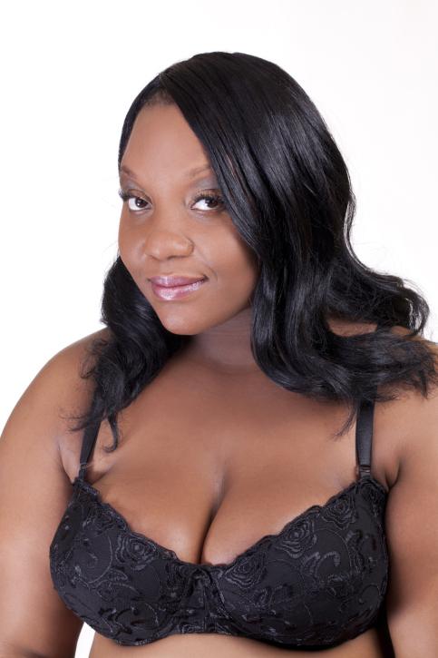 woman large breasts bra