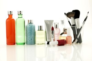 various types of beauty products