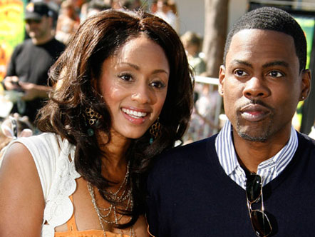 chris rock and wife