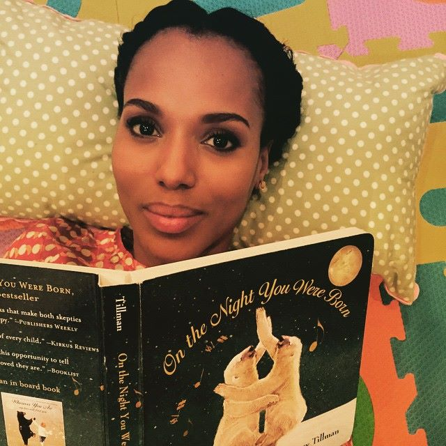 kerry washington book reading