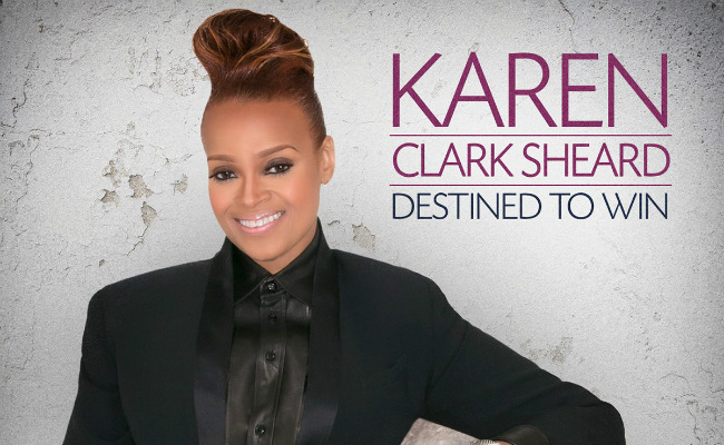 karen clark sheard destined to win album cover
