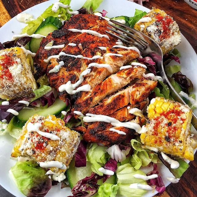 mexican street corn salad