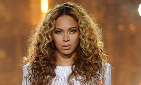 Beyonce performs on her Mrs Carter world tour in Amsterdam