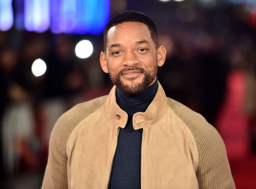 US actor Will Smith poses for photographers ahead of the Special Screening of 'Focus' in central London on February 11, 2015. AFP PHOTO / LEON NEALLEON NEAL/AFP/Getty Images ORIG FILE ID: 537673146