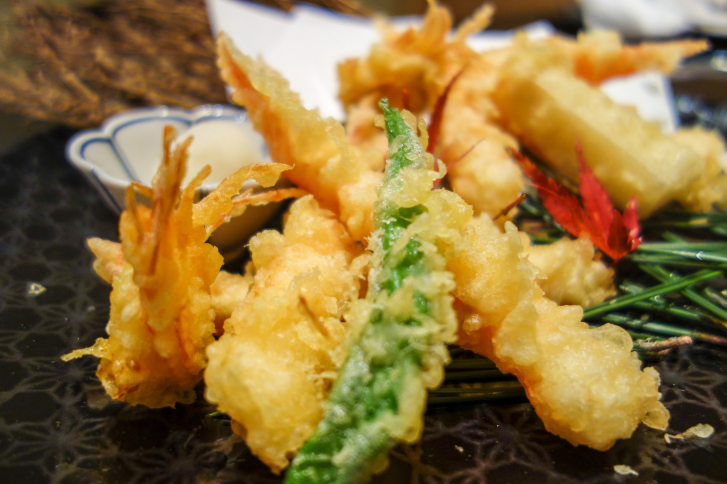 Prawn Tempura Japanese Food