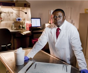 Dr. Bennet Omalu, Photo: Robert Durell