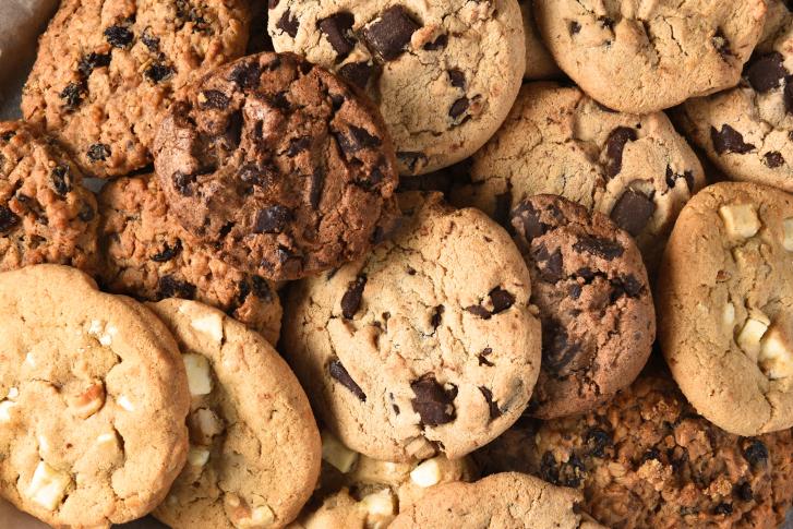 Assorted Cookies Closeup
