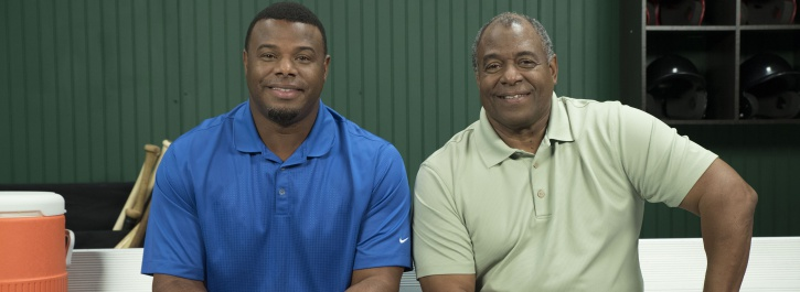 Ken Griffey Sr and Ken Griffey Jr