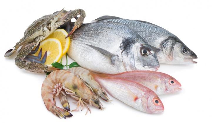 fish, shrimp, crab seafood
