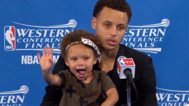 steph curry daughter