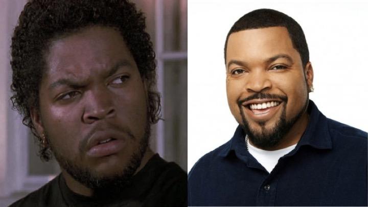 ice cube then now