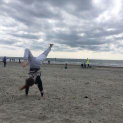 Handstand - Beach