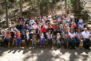 All the attendees to the 2014 Canine Hope DAD Conference
