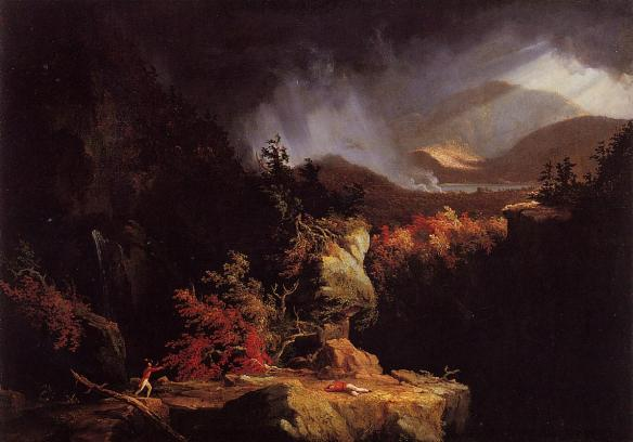 1826–1828: Thomas Gelyna Cole (xxx–xxx), xxxx, View near Ticonderoga