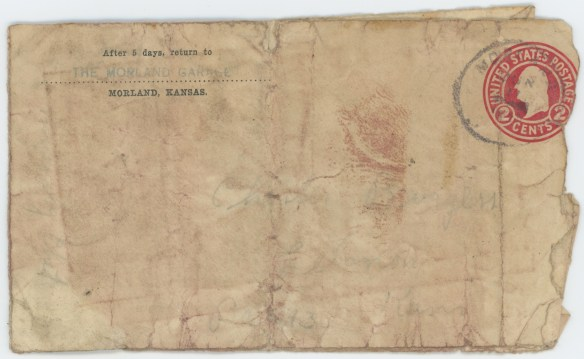 1932-07-02 Ray Shearer envelope front