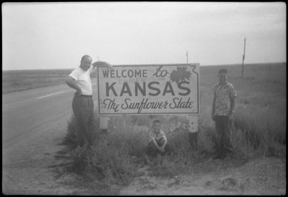 1953?- Entering Kansas