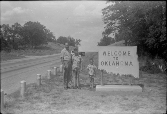 1953?- Entering Oklahoma