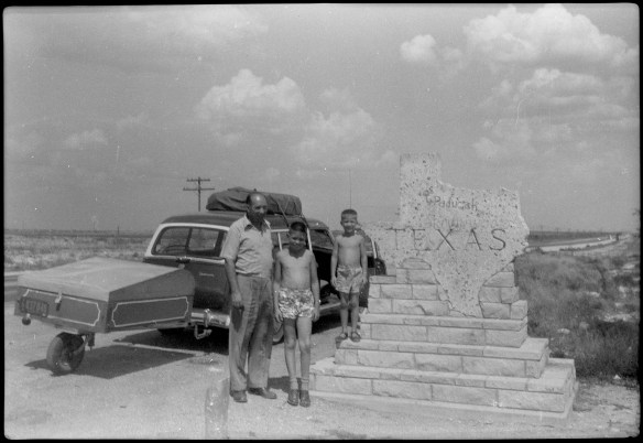 1953?- Entering Texas