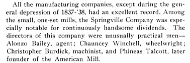 The Great Panic of 1837 in Rockville