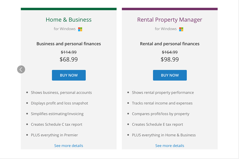 Quicken deals