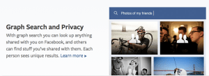 Graph Search & Privacy